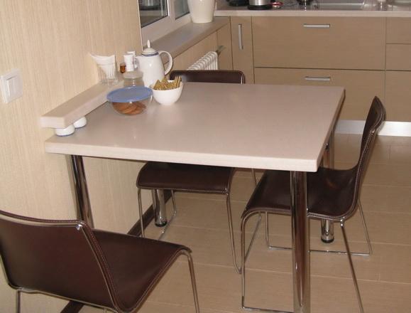 Стол обеденный столешница камень от производителя кухни зов класика с темными столешницами