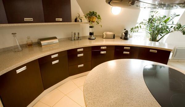 Акриловая столешница для кухни  спб